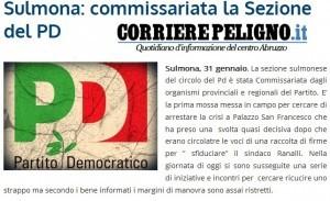 PD Sulmona commissariata