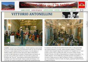 Concerto Aquilani a scanno
