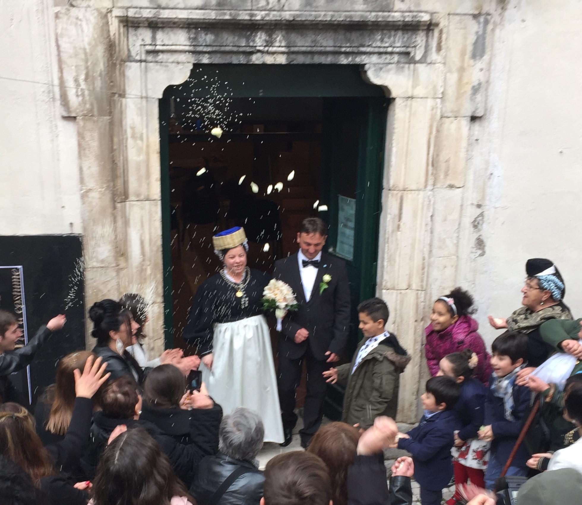 Scanno, ieri tornato il matrimonio in costume scannese
