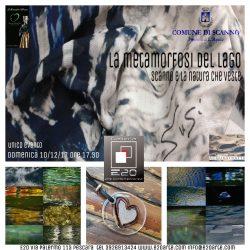 """Scanno, Pescara il 10 dicembre 2017, presentazione del progetto """"L'acqua del lago e la sua metamorfosi"""""""